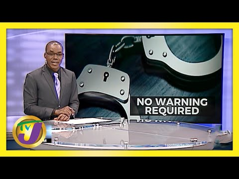 Jamaican Police No longer Require Warning for Covid Breaches   TVJ News