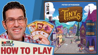 Tiny Towns - How To Play