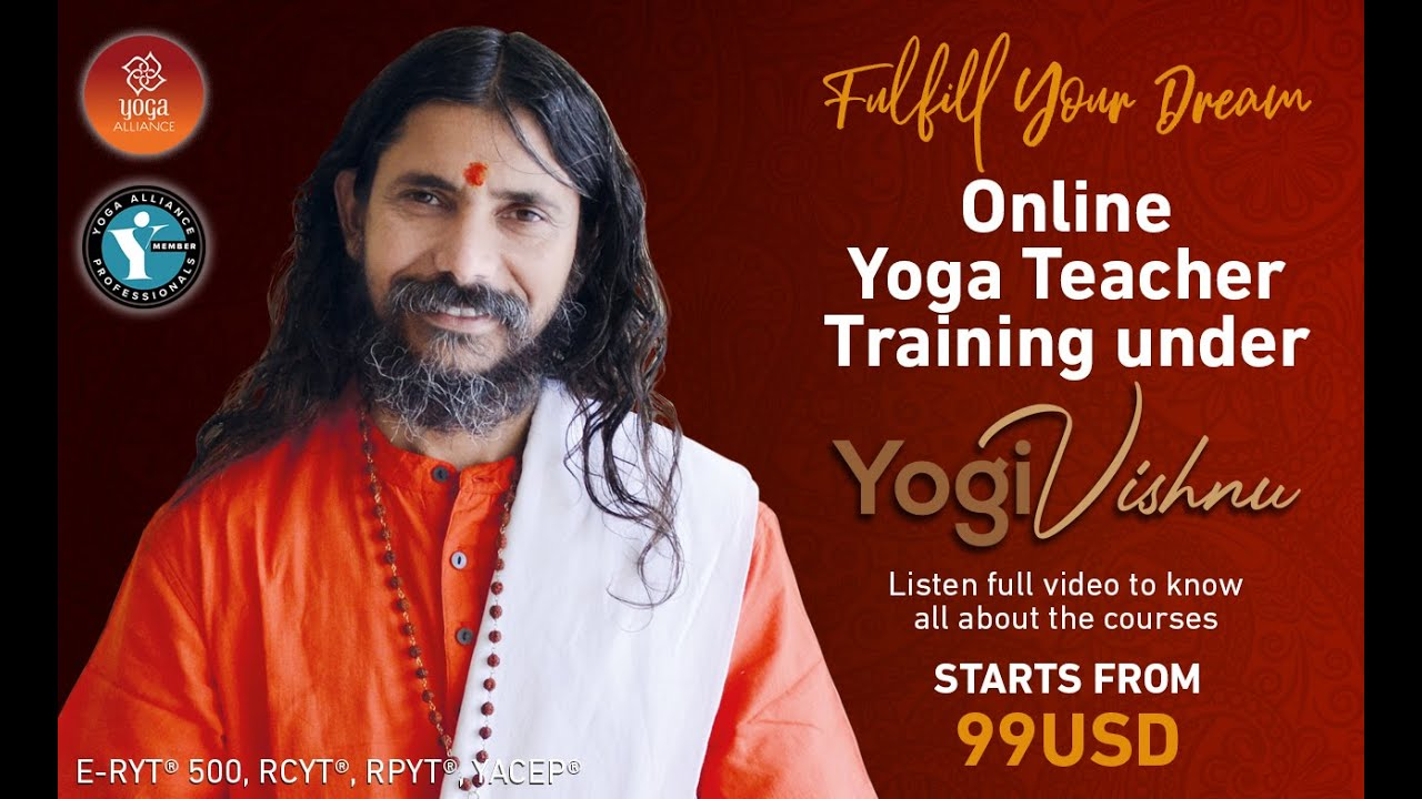 Online Yoga Teacher Training Rishikesh World Peace Yoga School Youtube