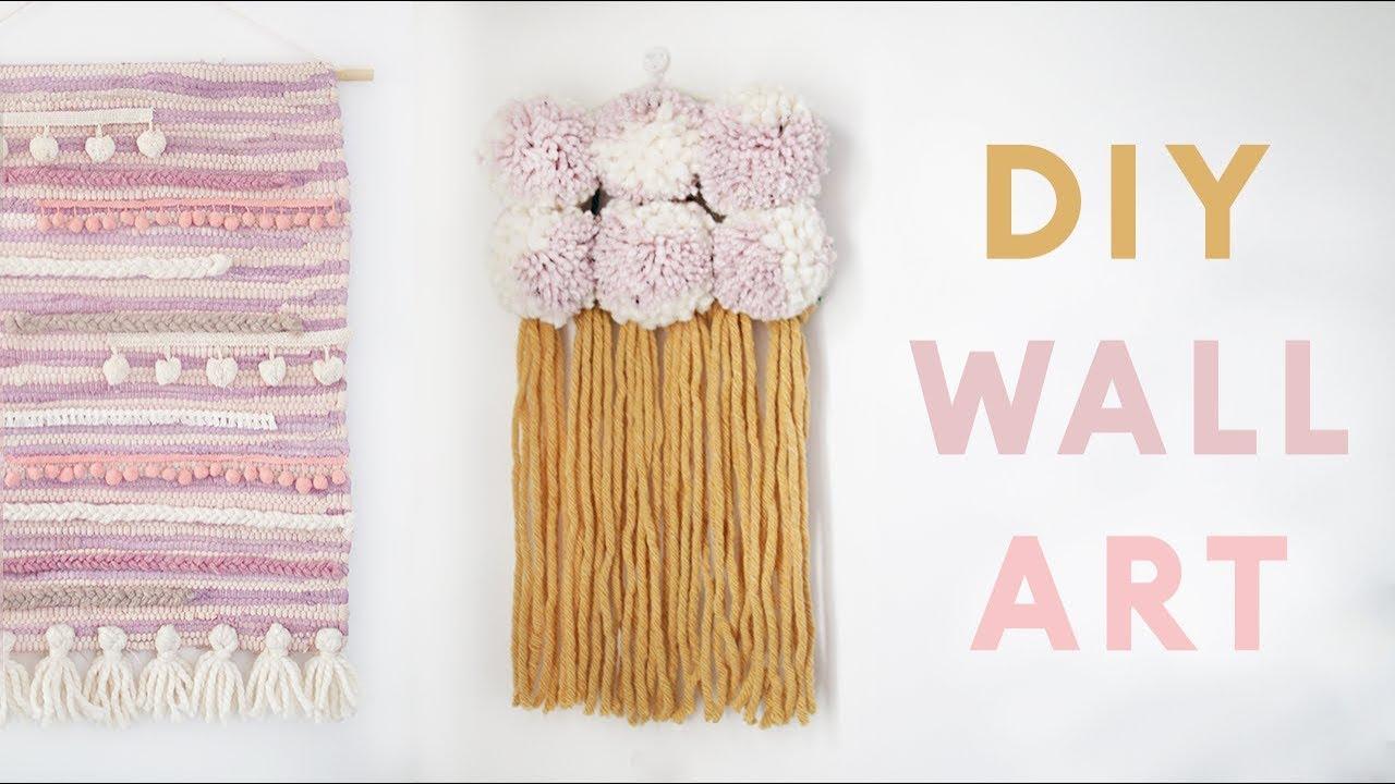 DIY Modern Wall Hangings | Easy DIY Wall Decor Projects ...