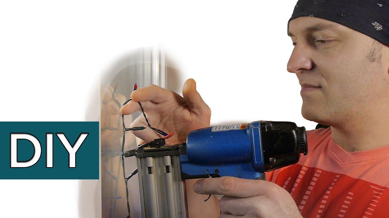 Как прикрепить гирлянду к стеклу. Инновация в системе крепления. Крепс #стройхак