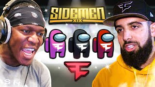 SIDEMEN AMONG US vs FAZE CLAN