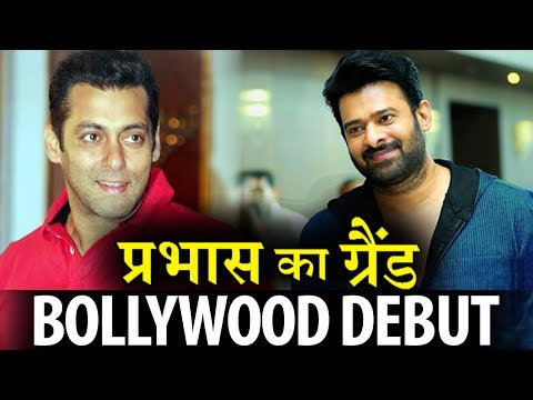 Prabhas to make his bollywood debut with Salman?