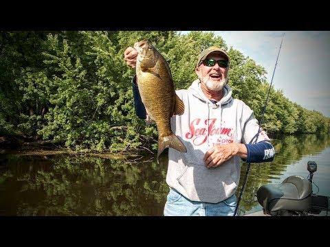 Sloppy Smallmouth Bass — Angling Edge TV