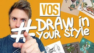 Cover images 🖌️VOS #DRAW IN YOUR STYLE