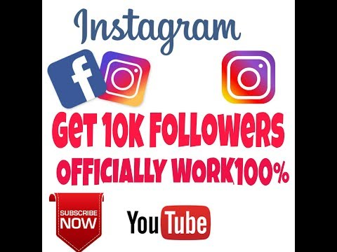 How to get 10k followers on Instagram ||official 2017 new HACK||