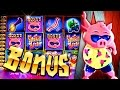 watch he video of Filthy Rich 2 BIG WIN!!!  Shakin Bacon Bonuses - 2c Wms Slot Game