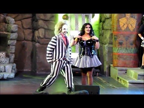 Full HD Final Beetlejuice's Graveyard Revue at Universal Studios Florida 1/4/14 in Orlando