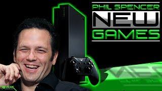 Phil Spencer Talks Big Xbox News! Xbox STEAL Sony Dev, New Xbox One X Tech & Xbox Games, Xbox Update