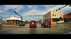 Driving through Wauchula, Florida on US 17