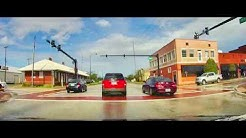 Driving through Wauchula, Florida on US 17