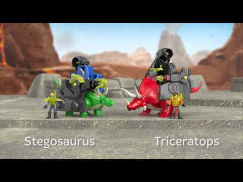 Dinosaurs & ROBOT | Imaginext | Fisher Price
