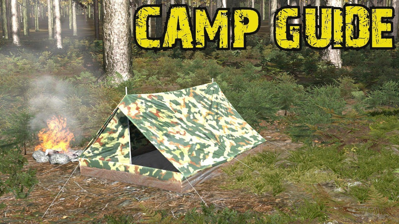 & DayZ TENT Camp Guide - YouTube
