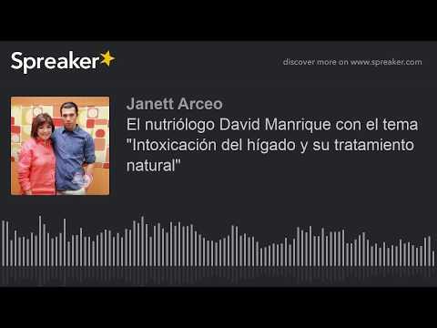 """El Nutriólogo David Manrique Con El Tema """"Intoxicación Del Hígado Y Su Tratamiento Natural"""""""
