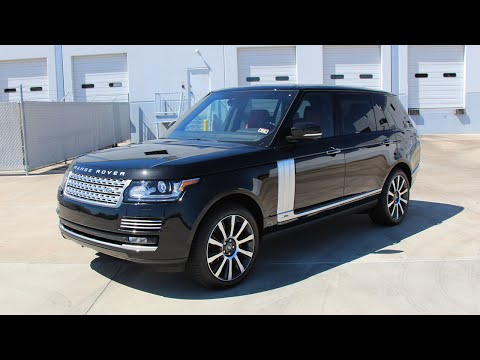 2014 Range Rover Autobiography SC Long Wheelbase  - Review, Start up, Exhaust Sound, and Test Drive