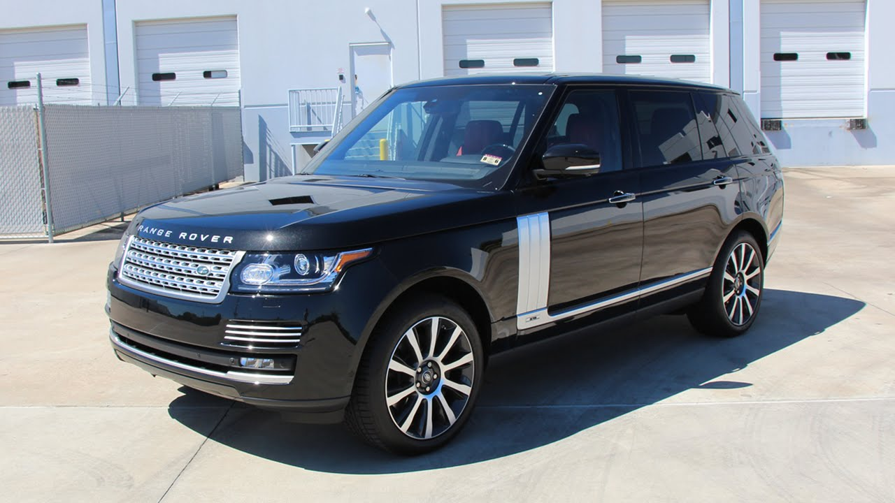 Range Rover Long Wheelbase >> 2014 Range Rover Autobiography Sc Long Wheelbase Review Start Up Exhaust Sound And Test Drive