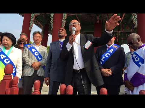 230 Ministers Pray for Peace at the DMZ.