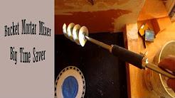 Time saver Bucket Mortar mixer