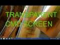 Transparent cmd screen