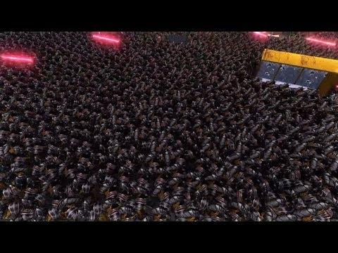10000 BLACK STORMTROOPER VS 10000 WERE WOLF - Massive Battle Epic Simulator |