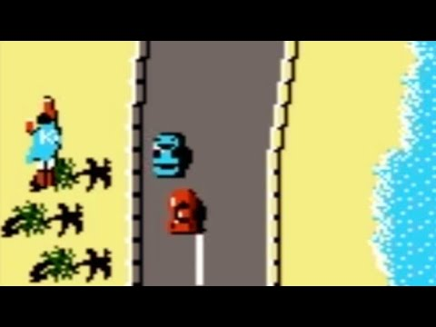 Road Fighter (NES) Playthrough - NintendoComplete