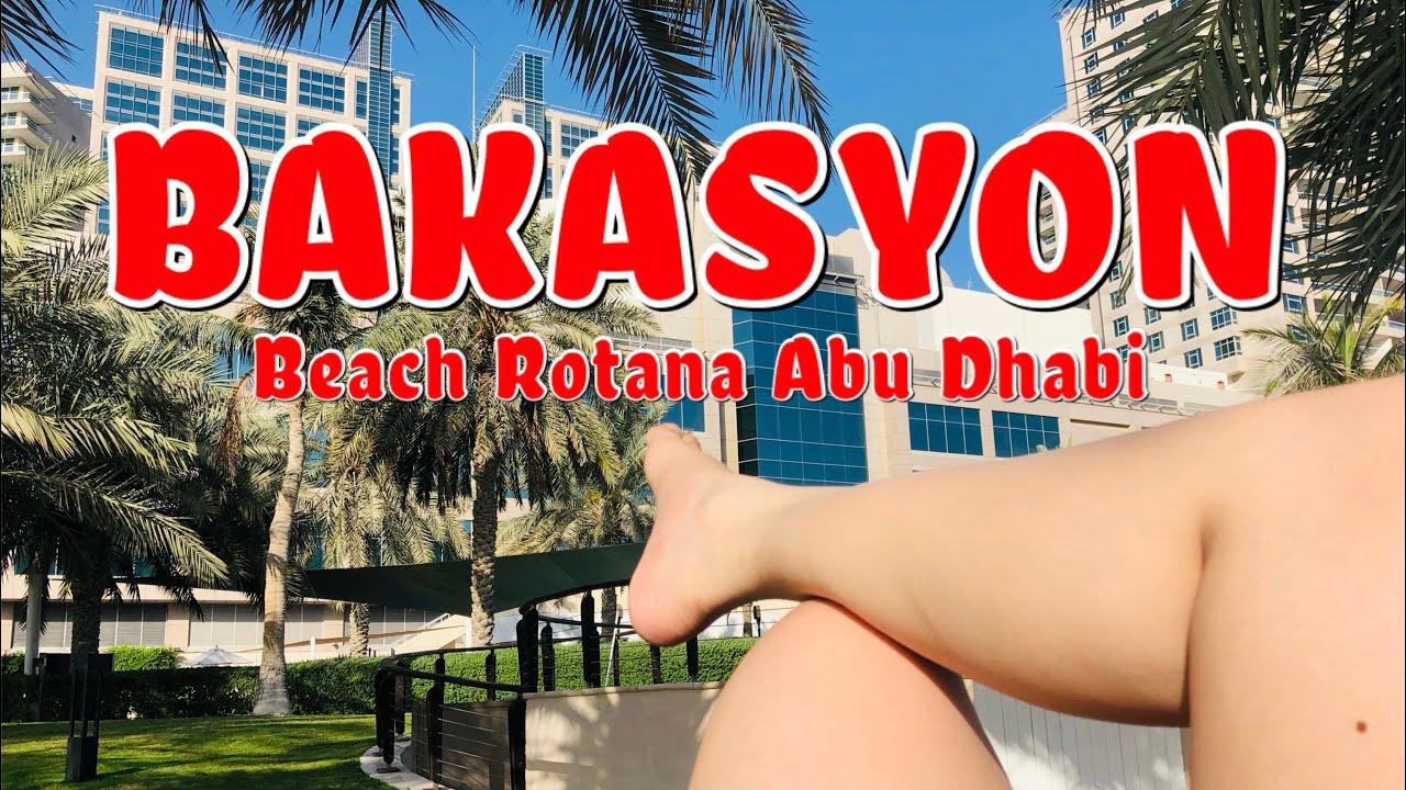 BAKASYON   Beach Rotana Abu Dhabi   Vlog No. 41   Khaye Ancheta