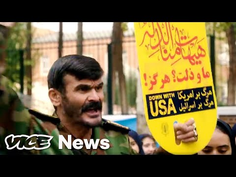 Iran Marked 40 Years Since the Hostage Crisis With a Massive Anti-American Rally