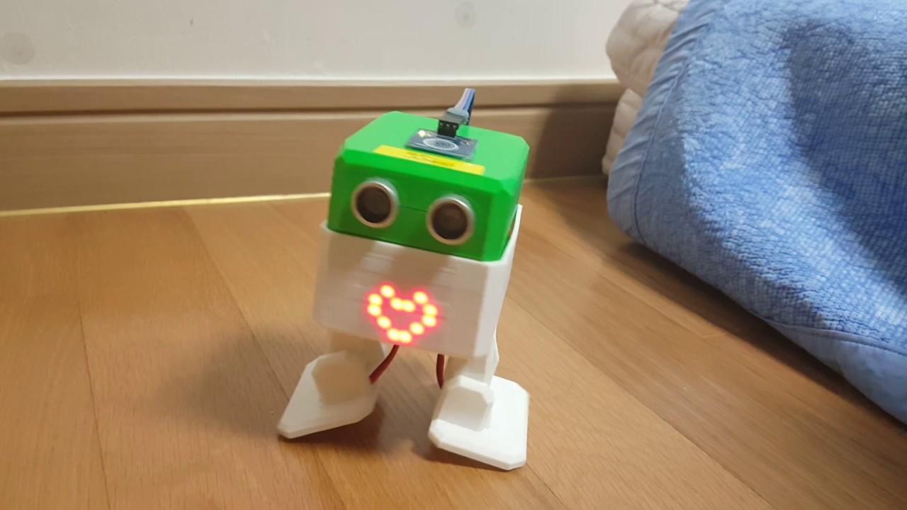 Diy arduino robot ottobot otto control with
