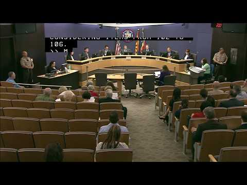 Maricopa County Board of Supervisors Formal Meeting