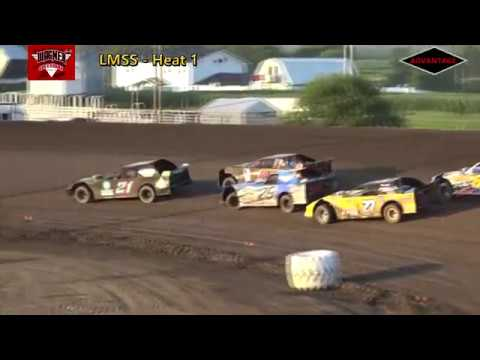 LMSS Heat/Feature - Wagner Speedway - 7/7/18