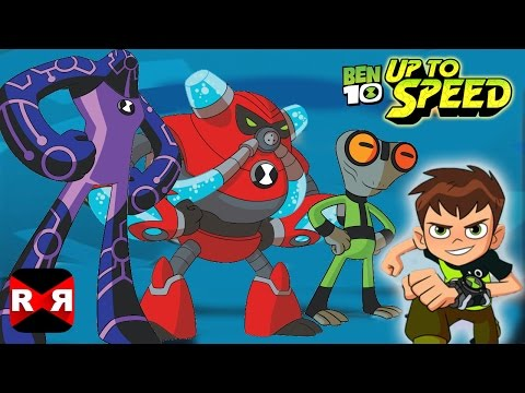3 New Aliens Update - Ben 10: Up To Speed - IOS / Android Gameplay