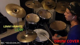 LOW - Lenny Kravitz Drum cover by Drummer Universe TV Video