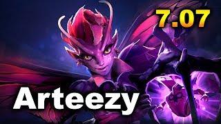 Arteezy Dark Willow - RTZ vs Cr1t Stack - NEW 7.07 DOTA 2