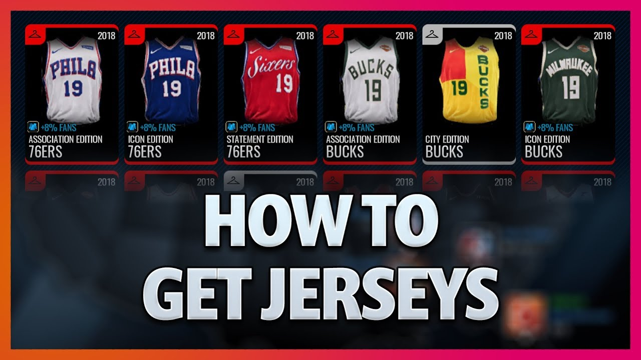 6b63fc79509 Early Preview Showing How to Get Jerseys - NBA Live Mobile - YouTube