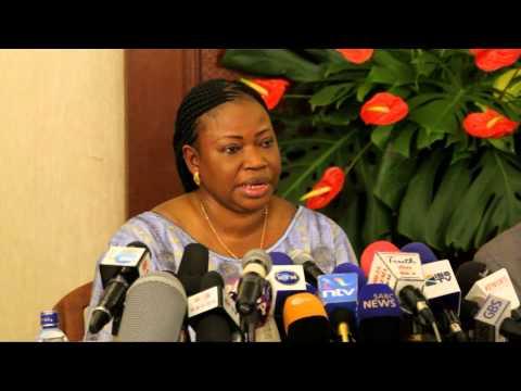 ICC Chief Prosecutor Fatou Bensouda Visit Kenya