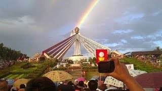 Dancing Sun Miracle - Divine Mercy Hills, Philippines