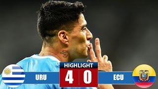 Uruguay vs Εсuаdоr 4-0 Highlights & Goals | Resumen y Goles - Cоpа Аmériса 2019