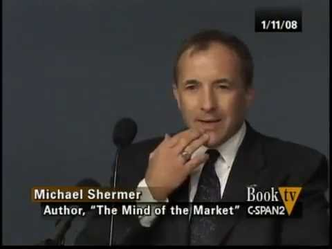 """Michael Shermer discussing """"Mind of the Market"""" at the Cato Institute"""