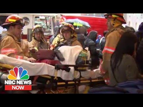 Helicopter Crash In Midtown Manhattan Leaves One Dead   NBC News Now