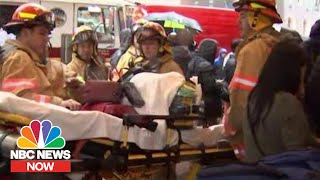 Helicopter Crash In Midtown Manhattan Leaves One Dead | NBC News Now