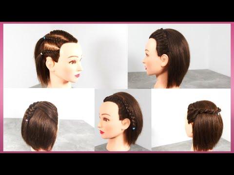 5 วิธีถักเปียง่ายๆ สำหรับผมสั้น | 5 How To Easy Braid For Short Hair  Ep105