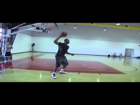 Hakeem Olajuwon & LeBron James Training Sessions 2011
