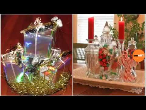 christmas table decoration ideas cheap christmas d cor youtube. Black Bedroom Furniture Sets. Home Design Ideas