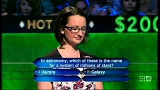 Millionaire Hot Seat | Astronomy, stars