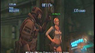 RE6 Mercenaries - Agent / Sherry Ex1 - Rail Yard - DUO 150 combo 1236K - [Italian dub]