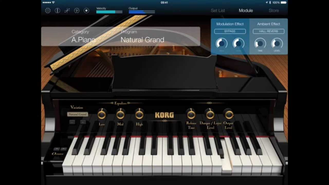 KORG Module review: mobile quality pianos | AudioNewsRoom - ANR