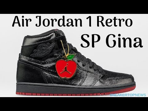 """Air Jordan 1 Retro """"SP Gina"""" To Release Exclusively At Shoe Palace"""