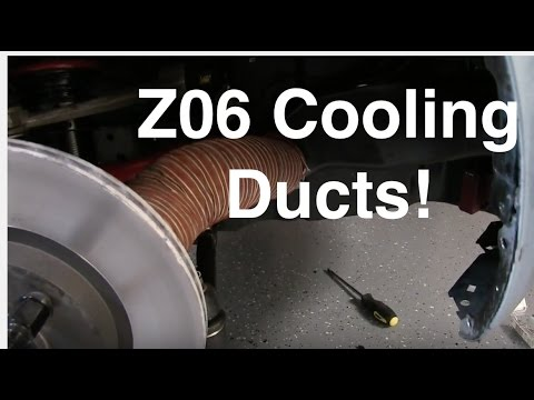 Installing Z06 Brake Ducts Into The MX-5 Miata Endurance Rac