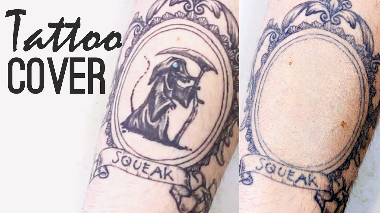 How to cover up a tattoo waterproof transfer proof long for How to cover tattoos