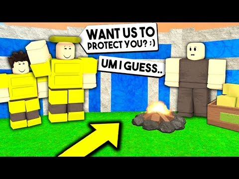 I Hired A GOD TRIBE To Protect Me.. But What They Did WILL SHOCK YOU! (Roblox Booga Booga)